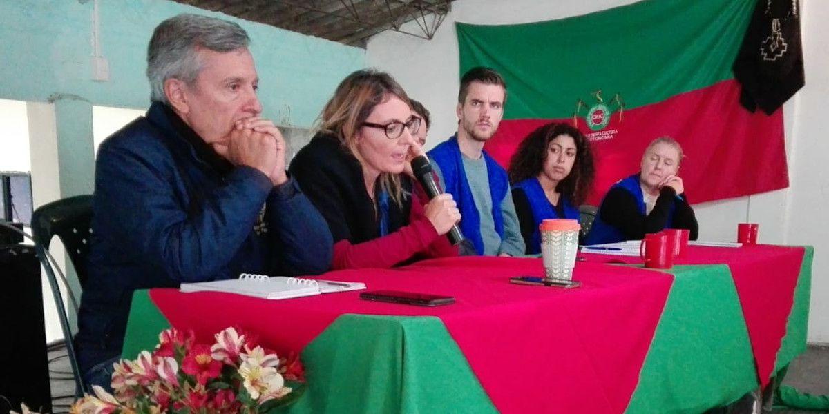 """""""Nos oyen pero no nos escuchan"""" dicen autoridades sobre derechos humanos"""