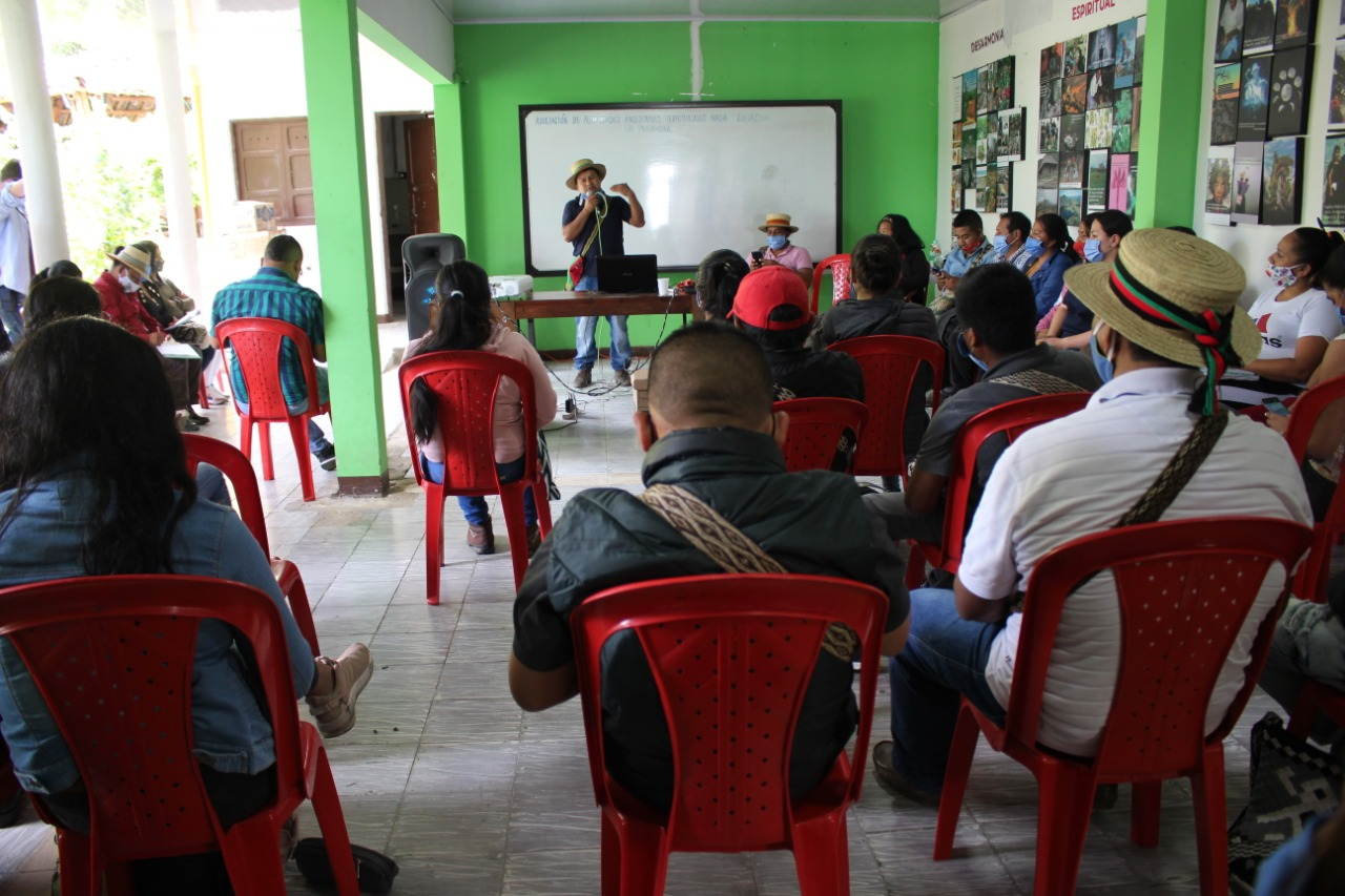 La educación propia desde el territorio de Tierradentro.