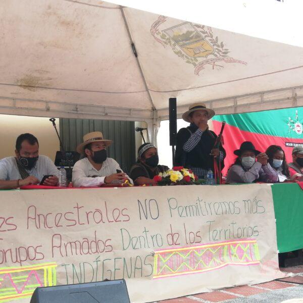 A pesar de la pandemia, la violencia sigue afectando a los territorios indígenas, frente a la muerte de Josué David Puscué, los líderes de Tierradentro se pronuncian