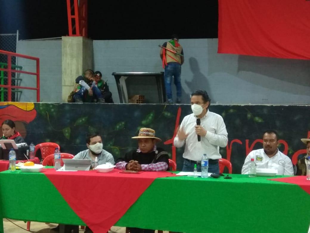 Alto Comisionado para la Paz se comprometió a gestionar varios proyectos solicitados por las autoridades y representantes de Páez