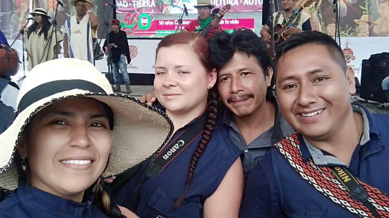Comunicadores, del movimiento indígena fueron reconocidos en los 50 años del CRIC