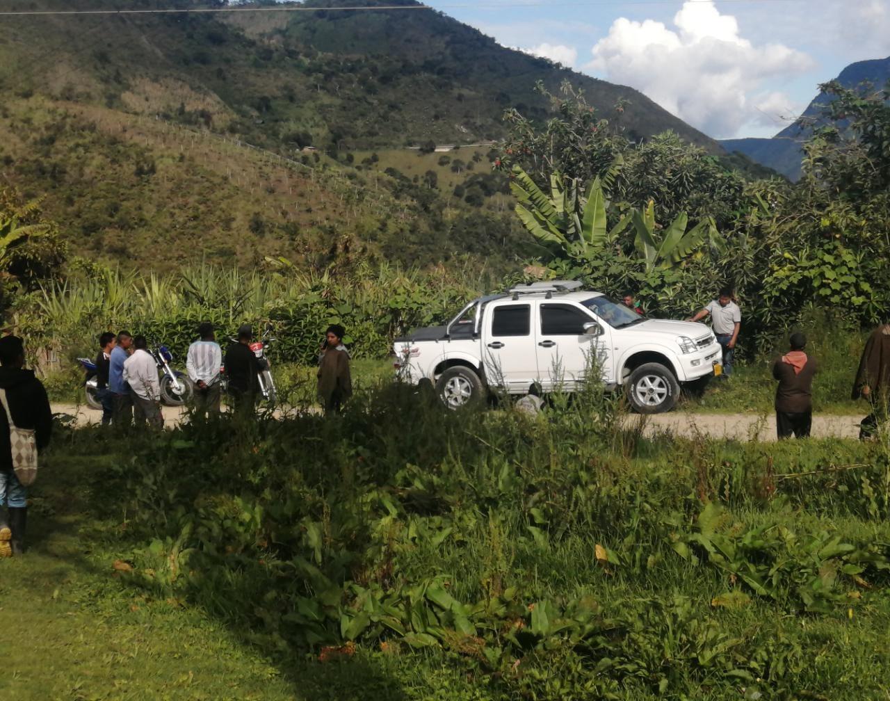 Desarmonías territoriales por grupos armados en el municipio de Páez.