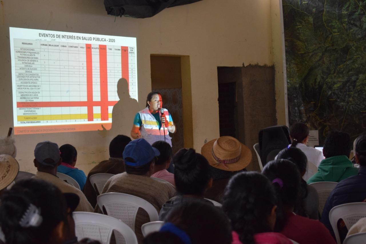 Encuentro de sabedores ancestrales y espirituales en el municipio de Páez