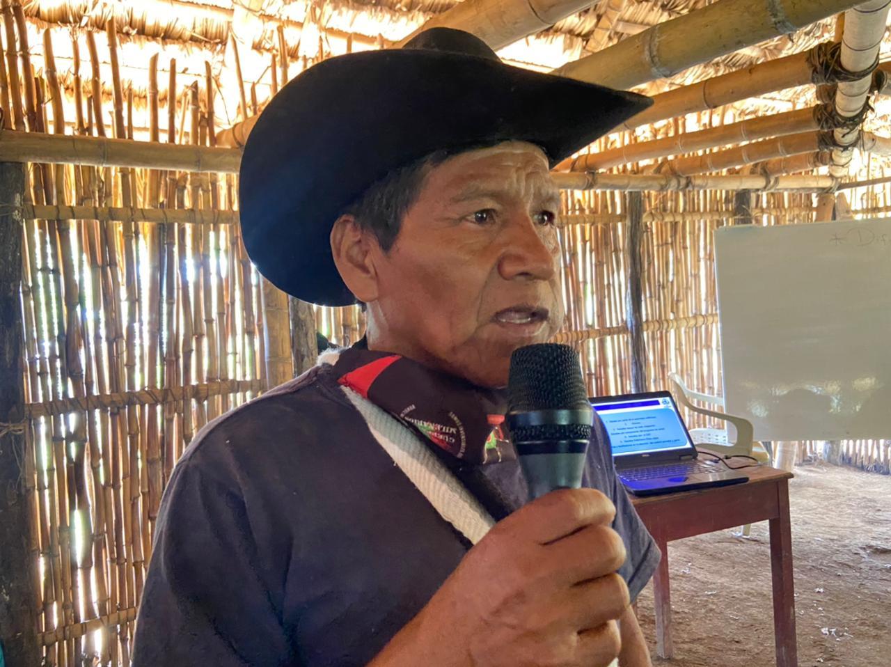 Conversatorio de mayoras y mayores sobre la salud de los pueblos alrededor de la tulpa