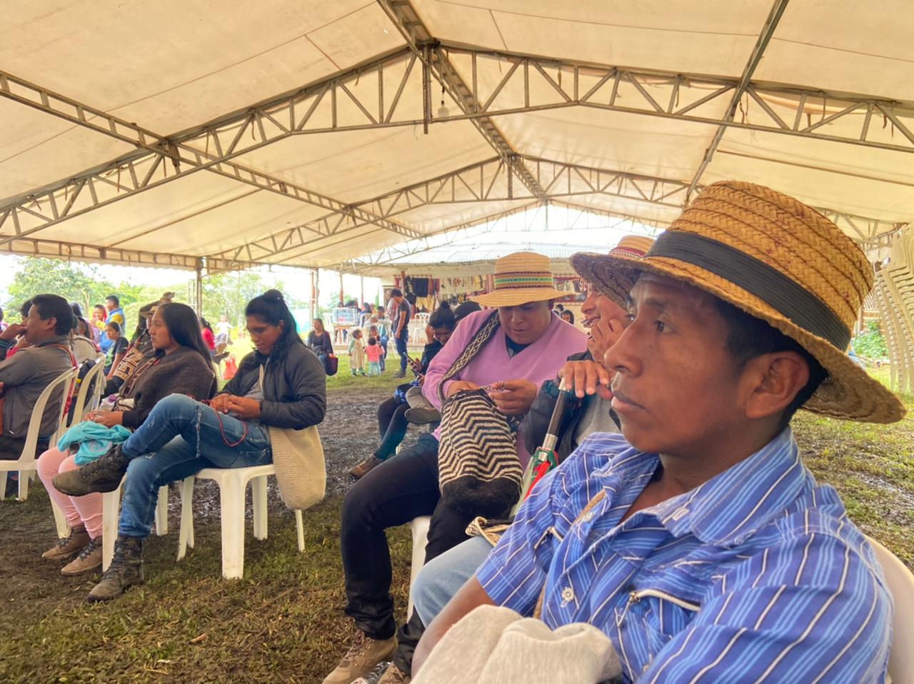 Encuentro del Pueblo Nasa en Sath Tama Kiwe. «Aquí estamos como pueblo resistiendo»
