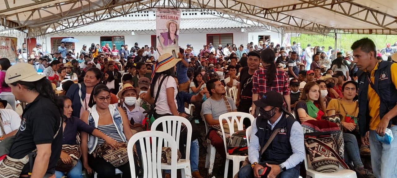 Inicia asamblea de armonización en el territorio de Caldono, Cauca