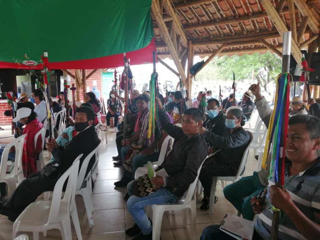 Mandamos a crear la política de Sistema Indígena de Salud Propia Intercultural-SISPI: Autoridades Tradicionales CRIC en la junta directiva AIC