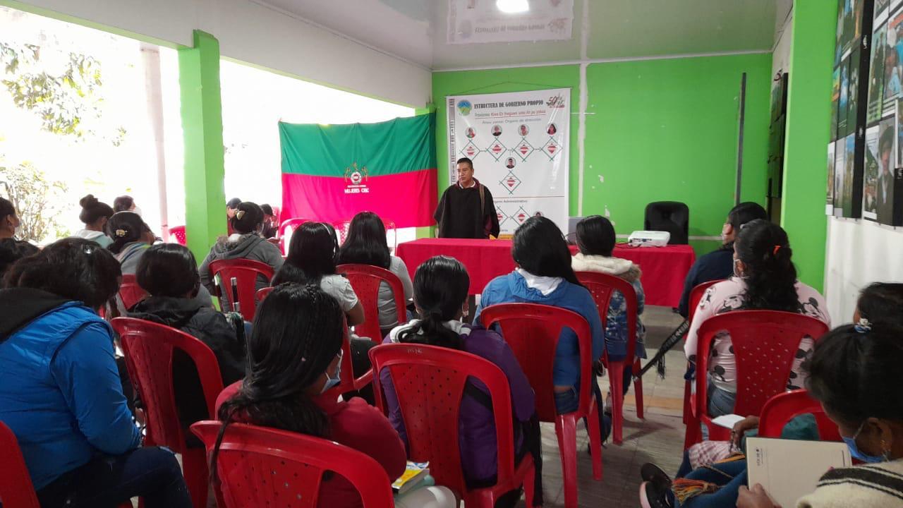 Procesos de orientación y formación a mujeres Nasa de Páez