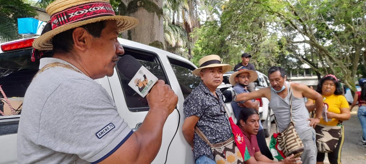 Páez en minga por el Paro Nacional