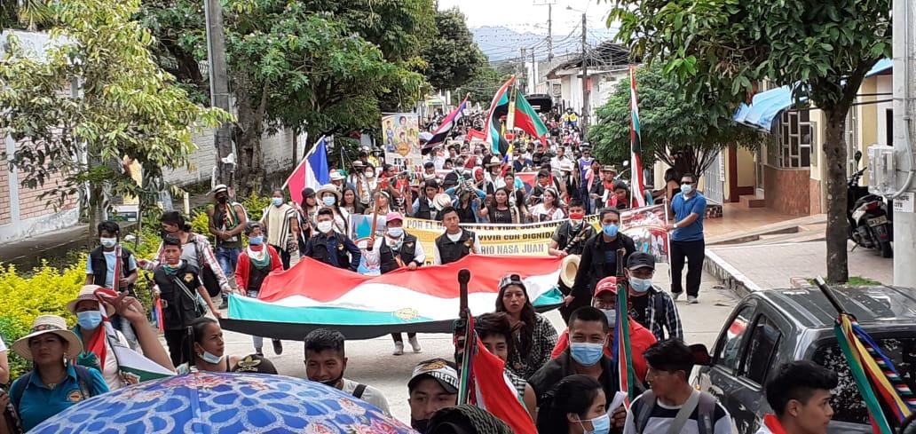La Minga indígena avanza y reconoce al Paro nacional con el llamado a la Unidad