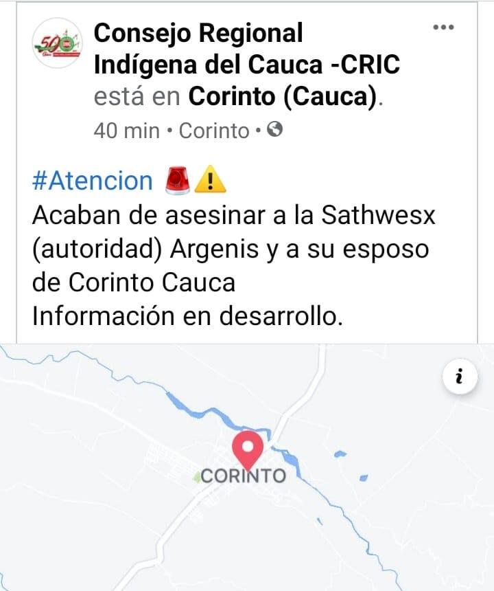 No hay garantías: más asesinatos en el Cauca
