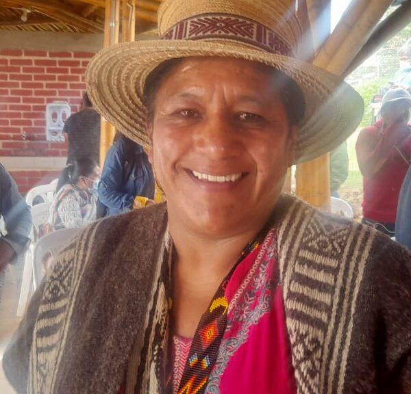 Aida Quilcué candidata oficial al Senado para los pueblos indígenas del cauca y Colombia