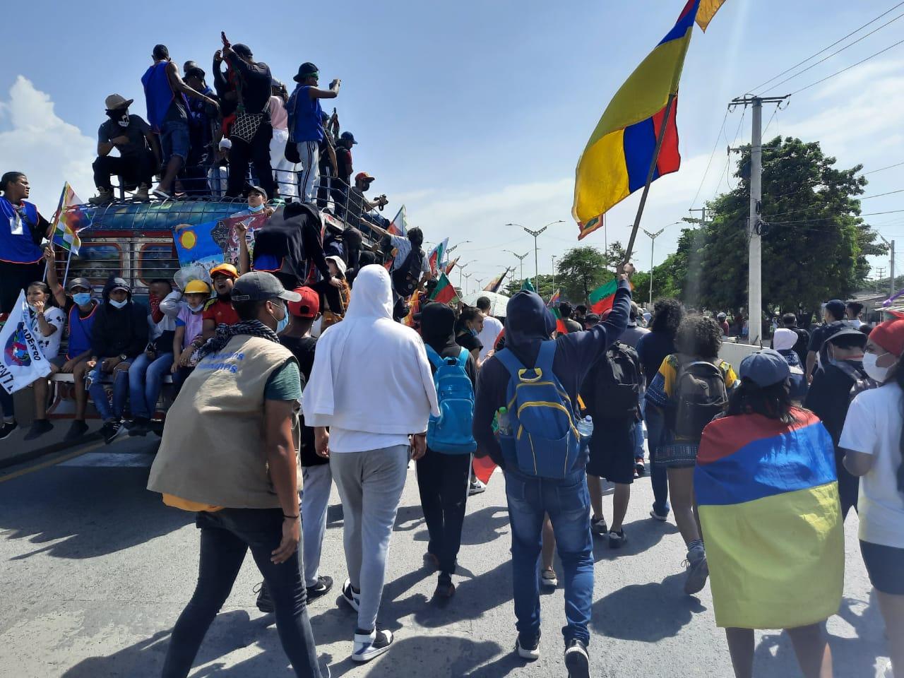 La minga abraza la vida en Barranquilla