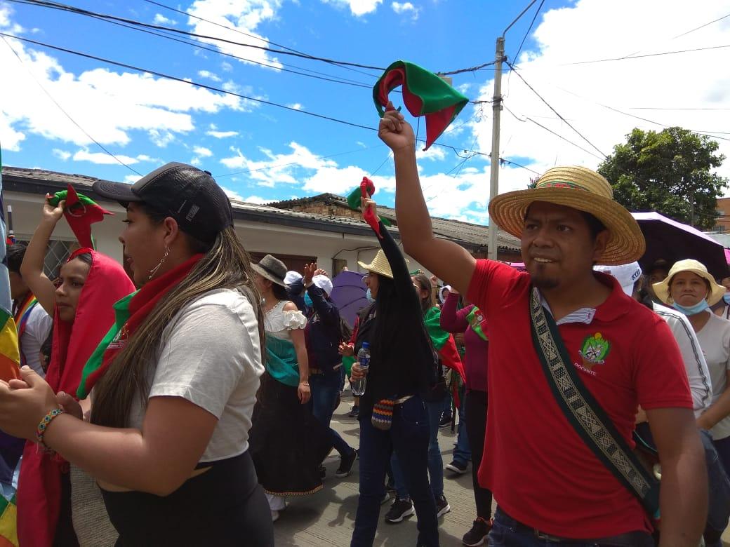 Balance de la marcha política y simbólica en Popayán