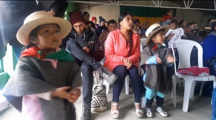 Apertura de los nidos lingüísticos en Páez-Tierradentro