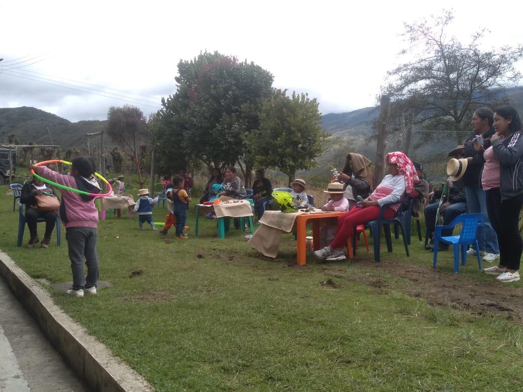 En Mosoco; Primer Encuentro de semilleros de Nasayuwe
